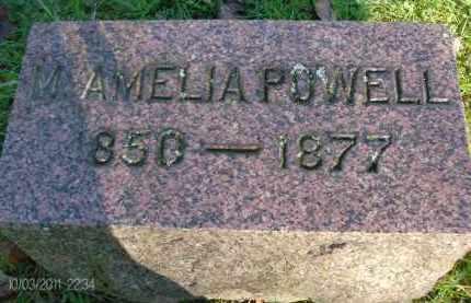 POWELL, M AMELIA - Albany County, New York | M AMELIA POWELL - New York Gravestone Photos