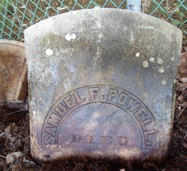 POWELL, SAMUEL F - Albany County, New York   SAMUEL F POWELL - New York Gravestone Photos