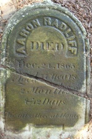 RADLIFF, AARON - Albany County, New York | AARON RADLIFF - New York Gravestone Photos