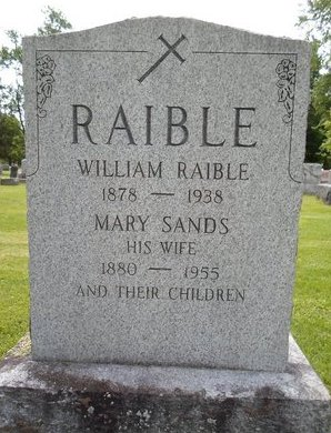 RAIBLE, MARY - Albany County, New York | MARY RAIBLE - New York Gravestone Photos