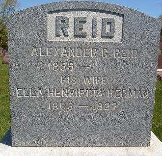 HERMAN REID, ELLA HENRIETTA - Albany County, New York | ELLA HENRIETTA HERMAN REID - New York Gravestone Photos
