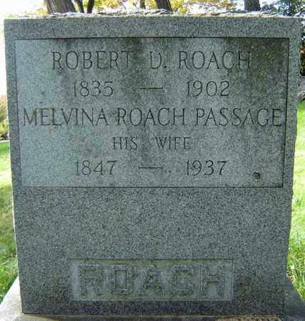ROACH, ROBERT D - Albany County, New York | ROBERT D ROACH - New York Gravestone Photos