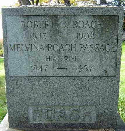 PASSAGE ROACH, MELVINA - Albany County, New York | MELVINA PASSAGE ROACH - New York Gravestone Photos