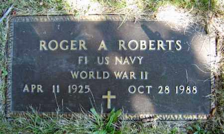 ROBERTS, ROGER A - Albany County, New York | ROGER A ROBERTS - New York Gravestone Photos