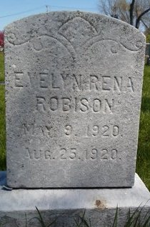 ROBISON, EVELYN RENA - Albany County, New York | EVELYN RENA ROBISON - New York Gravestone Photos
