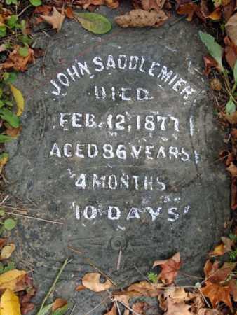 SADDLEMIER, JOHN - Albany County, New York   JOHN SADDLEMIER - New York Gravestone Photos