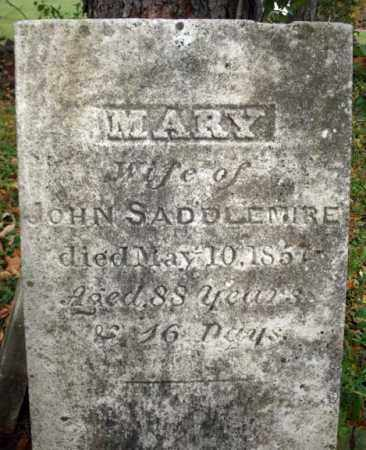 SADDLEMIRE, MARY - Albany County, New York   MARY SADDLEMIRE - New York Gravestone Photos