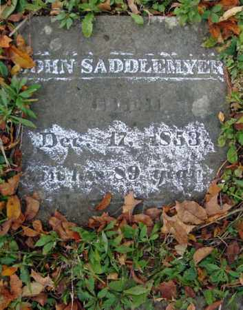 SADDLEMYER, JOHN - Albany County, New York | JOHN SADDLEMYER - New York Gravestone Photos