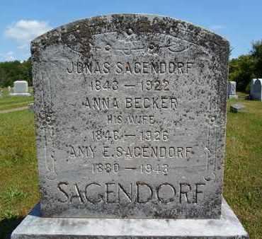 BECKER SAGENDORF, ANNA - Albany County, New York | ANNA BECKER SAGENDORF - New York Gravestone Photos