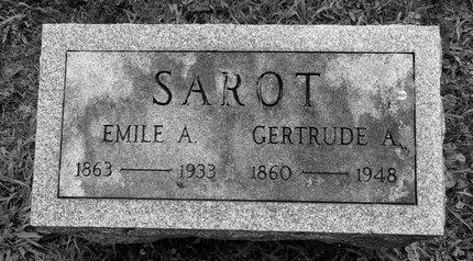 SAROT, GERTRUDE A - Albany County, New York | GERTRUDE A SAROT - New York Gravestone Photos