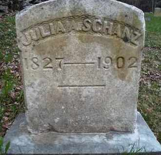 SCHANZ, JULIA A - Albany County, New York | JULIA A SCHANZ - New York Gravestone Photos