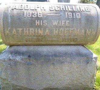 SCHILLING, KATHRINA - Albany County, New York | KATHRINA SCHILLING - New York Gravestone Photos