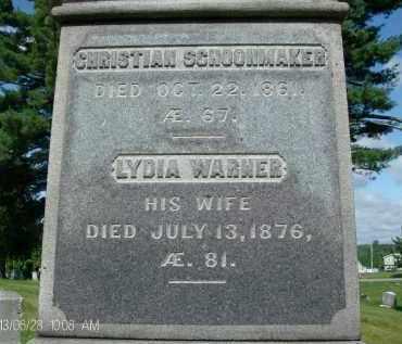 WARNER, LYDIA - Albany County, New York | LYDIA WARNER - New York Gravestone Photos