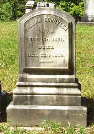 SCHUYLER, WILLIAM - Albany County, New York | WILLIAM SCHUYLER - New York Gravestone Photos