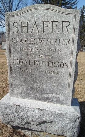SHAFER, CHARLES W - Albany County, New York | CHARLES W SHAFER - New York Gravestone Photos