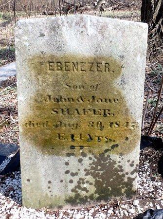 SHAFER, EBENEZER - Albany County, New York | EBENEZER SHAFER - New York Gravestone Photos