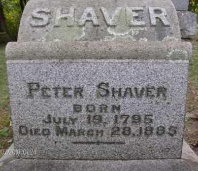 SHAVER, PETER - Albany County, New York   PETER SHAVER - New York Gravestone Photos