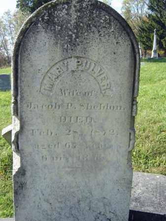 PULVER, MARY - Albany County, New York | MARY PULVER - New York Gravestone Photos