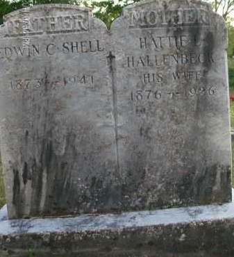 SHELL, EDWIN C - Albany County, New York | EDWIN C SHELL - New York Gravestone Photos