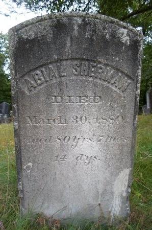 SHERMAN, ABIAL - Albany County, New York   ABIAL SHERMAN - New York Gravestone Photos