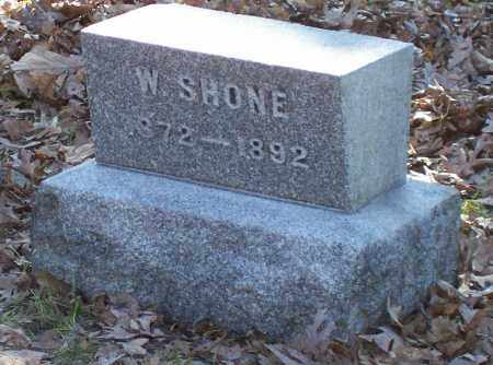 SHONE, WILLIAM - Albany County, New York | WILLIAM SHONE - New York Gravestone Photos