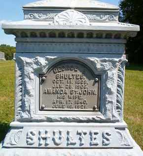 SHULTES, GEORGE E - Albany County, New York | GEORGE E SHULTES - New York Gravestone Photos