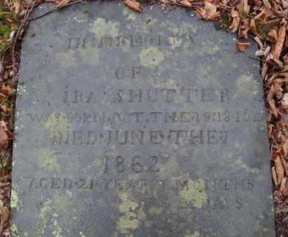 SHUTTER, IRA - Albany County, New York | IRA SHUTTER - New York Gravestone Photos