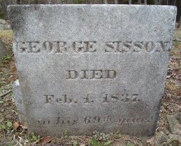SISSON, GEORGE - Albany County, New York   GEORGE SISSON - New York Gravestone Photos