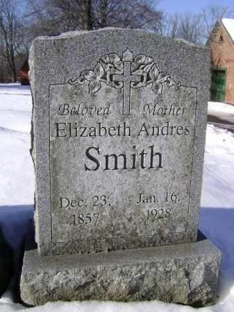 SMITH, ELIZABETH - Albany County, New York | ELIZABETH SMITH - New York Gravestone Photos