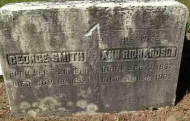 SMITH, ANN - Albany County, New York | ANN SMITH - New York Gravestone Photos