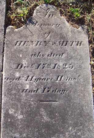 SMITH, HENRY - Albany County, New York | HENRY SMITH - New York Gravestone Photos