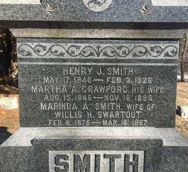 SMITH, MARINDA A - Albany County, New York | MARINDA A SMITH - New York Gravestone Photos