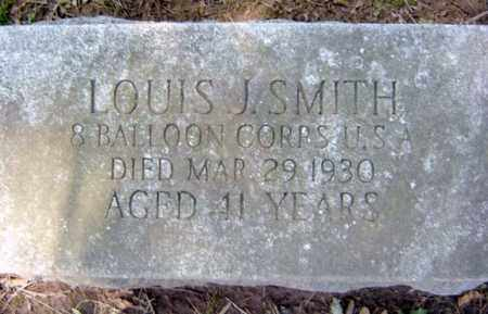 SMITH, LOUIS J - Albany County, New York | LOUIS J SMITH - New York Gravestone Photos