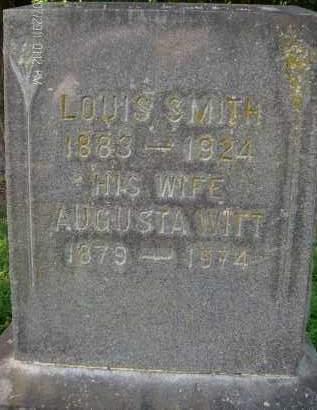 SMITH, AUGUSTA - Albany County, New York | AUGUSTA SMITH - New York Gravestone Photos