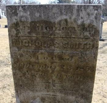SMITH, NICHOLAS - Albany County, New York | NICHOLAS SMITH - New York Gravestone Photos