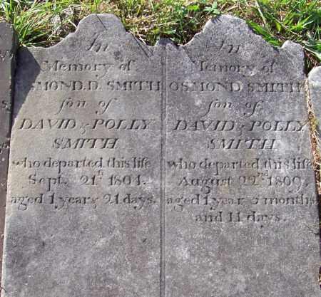 SMITH, OSMOND D - Albany County, New York | OSMOND D SMITH - New York Gravestone Photos