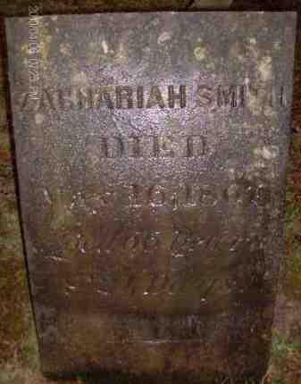 SMITH, ZACHARIAH - Albany County, New York | ZACHARIAH SMITH - New York Gravestone Photos