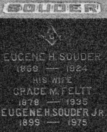 FELTT SOUDER, GRACE M - Albany County, New York | GRACE M FELTT SOUDER - New York Gravestone Photos