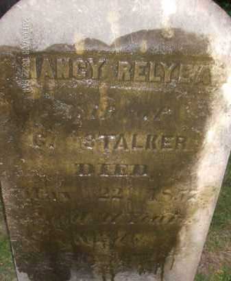 STALKER, NANCY - Albany County, New York | NANCY STALKER - New York Gravestone Photos