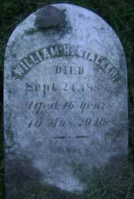 STALKER, WILLIAM H - Albany County, New York | WILLIAM H STALKER - New York Gravestone Photos