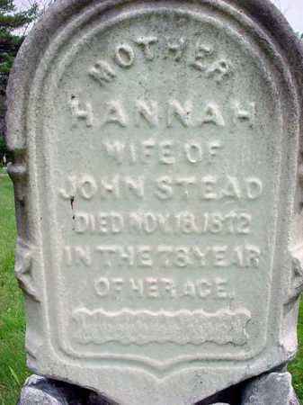 SMITH, HANNAH - Albany County, New York   HANNAH SMITH - New York Gravestone Photos