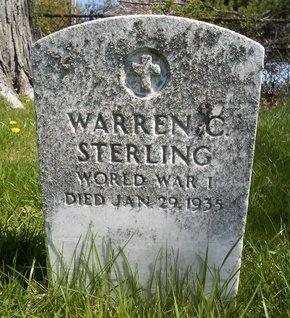 STERLING (WWI), WARREN C - Albany County, New York | WARREN C STERLING (WWI) - New York Gravestone Photos