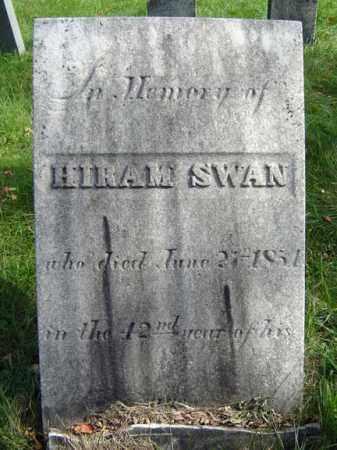 SWAN, HIRAM - Albany County, New York | HIRAM SWAN - New York Gravestone Photos
