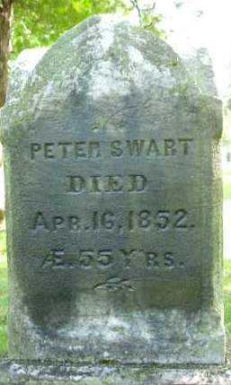 SWART, PETER - Albany County, New York | PETER SWART - New York Gravestone Photos