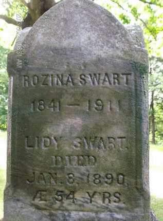 SWART, ROZINA - Albany County, New York | ROZINA SWART - New York Gravestone Photos