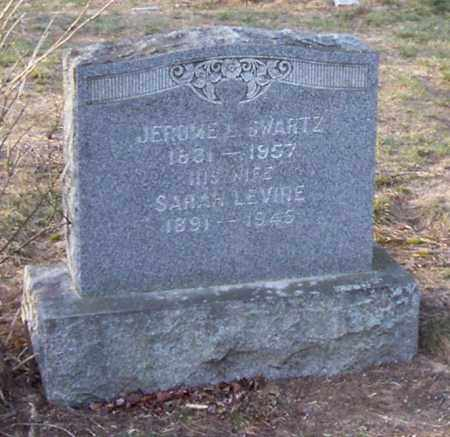 LEVINE SWARTZ, SARAH - Albany County, New York | SARAH LEVINE SWARTZ - New York Gravestone Photos