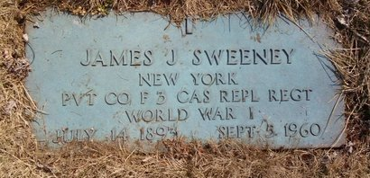 SWEENEY, JAMES J - Albany County, New York | JAMES J SWEENEY - New York Gravestone Photos