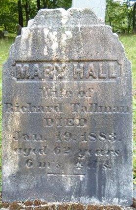 HALL, MARY - Albany County, New York | MARY HALL - New York Gravestone Photos