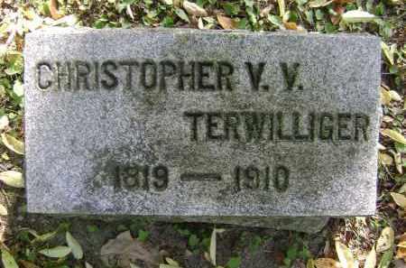 TERWILLIGER, CHRISTOPHER V. V. - Albany County, New York | CHRISTOPHER V. V. TERWILLIGER - New York Gravestone Photos