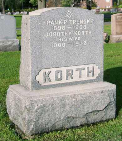 KORTH, DOROTHY - Albany County, New York | DOROTHY KORTH - New York Gravestone Photos